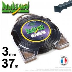 Fil débroussailleuse Nylsaw ®. Coque 3 mm x 37 m