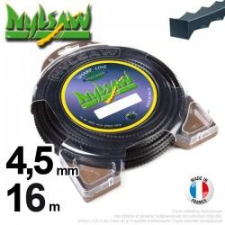 Fil débroussailleuse nylsaw ®. Coque 4,5 mm x 11 m