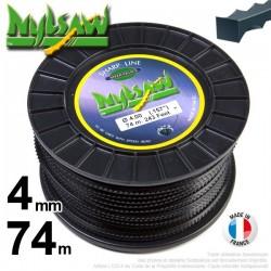Fil débroussailleuse nylsaw ®. Bobine 4 mm x 74 m