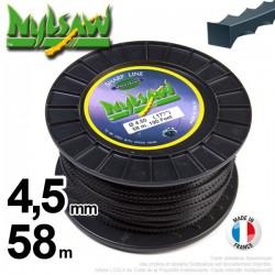 Fil débroussailleuse nylsaw ®. Bobine 4,5 mm x 58 m