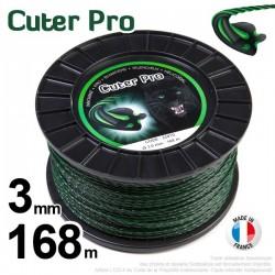 Fil débroussailleuse Cuter' Pro ®. Bobine 3 mm x 168 m
