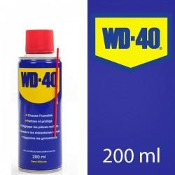 WD 40. Protège, dégrippe, nettoie, lubrifie. 200 ml
