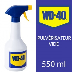 WD 40. Pulvérisateur (vide) de 550 ml