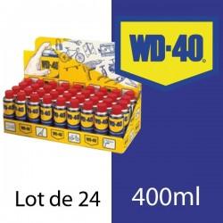 WD 40. Protège, dégrippe, lubrifie. Présentoir 24 x 400 ml
