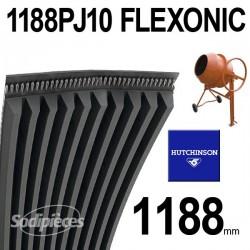Poly-V Elastique FLEXONIC 1188PJ10