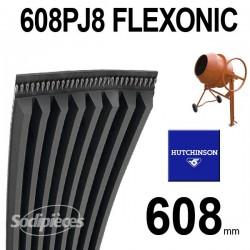 Poly-V Elastique FLEXONIC 608PJ8
