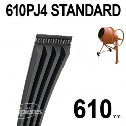Poly-V Standard 610PJ4 Hutchinson