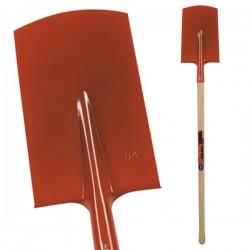 Bêche 27 cm à rebord du manche 100 cm