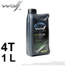 Huile moteur Agriflow 4 Temps. 1 L. 10W30