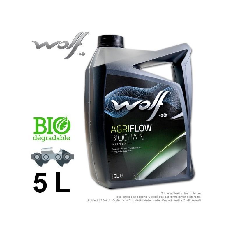 Huile chaîne Biodégradable. 5 L