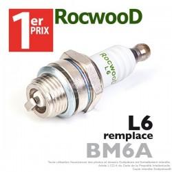 Bougie type BM6A. 1er Prix Rocwood. L6