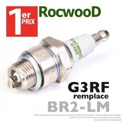 Bougie type BR2LM. 1er Prix Rocwood. G3RF