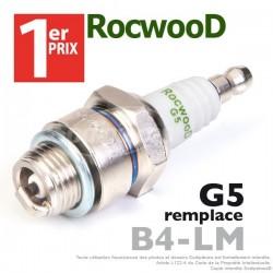 Bougie type B4LM. 1er Prix Rocwood. G5