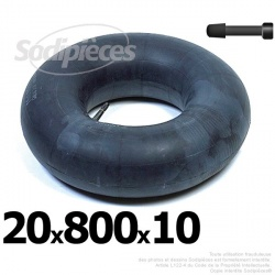 Chambre à air 20 x 800 x 10 valve droite
