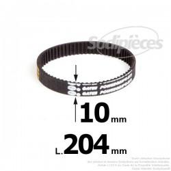 Courroie pour électro portatif 204x10