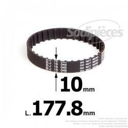 Courroie pour électro portatif 177,8x10