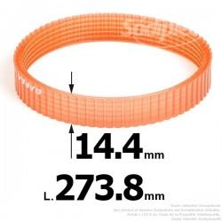 Courroie pour électro portatif 273,8x14,4