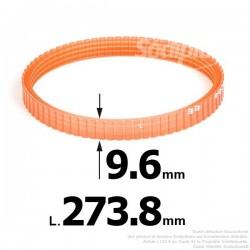 Courroie pour électro portatif 273,8x9,6