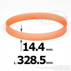 Courroie pour électro portatif 328,5x14,4