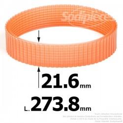 Courroie pour électro portatif 273,8x21,6