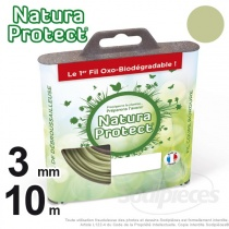 Fil Natura Protect Oxo-biodégradable, coque rond 3 mm x 10 m