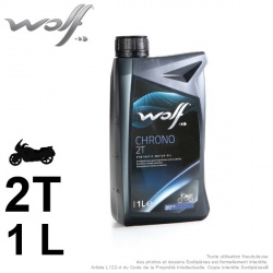 Huile 2 roues. Wolf CHRONO 4T 10W40
