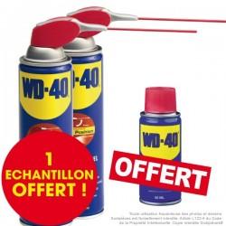 WD 40. Protège, dégrippe, nettoie, lubrifie. 500 ml système professionnel. Par 2