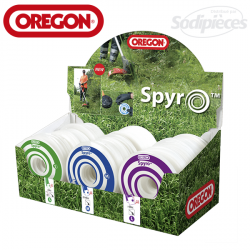 Présentoir fil nylon Orégon Spyro. 50S-50M-50L