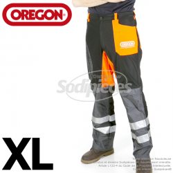 Pantalon de débroussaillage Orégon. Taille XXL