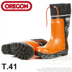 Bottes en caoutchouc Oregon YUKON II pour tronçonneuse. T38