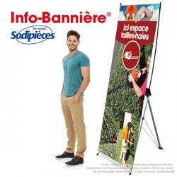 Info-Bannière® Tronconneuse