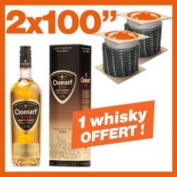 """2 Chaînes KERWOOD 100"""". 1 bouteille de Whisky !"""