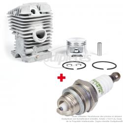 Kit cylindre + bougie pour Stihl MS390