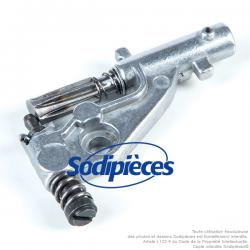 Pompe à huile pour Husqvarna 544 18 01 03 et 544 18 01 01 . Pour modèles 345, 34