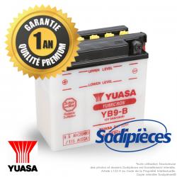 Batterie pour moto YB9-B 12V