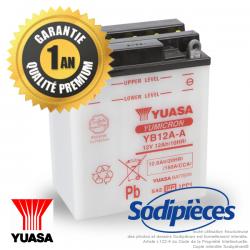 Batterie YUASA YB12A-A pour tondeuse