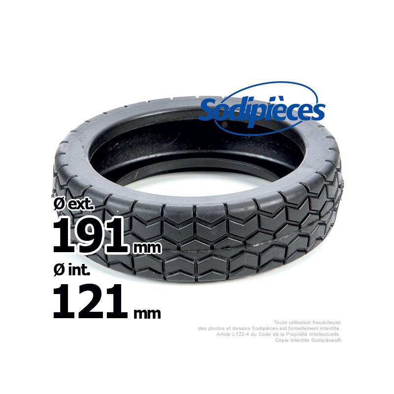 bandage de roue pour honda hr21 hr215 ext 191 mm int 121 mm. Black Bedroom Furniture Sets. Home Design Ideas