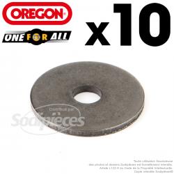 10 rondelles d'adaptation pour lame Orégon One-For-All.