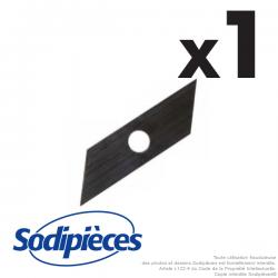Couteaux scarificateurs pour Tielburger, Iseki, Viking n° origine KB002-001. A l'unité