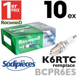 Bougie type BCPR6ES. 1er Prix Rocwood. K6RTC x10
