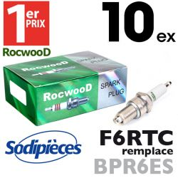 Bougie type BPR6ES. 1er Prix Rocwood. F6RTC x10
