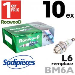 Bougie type BM6A. 1er Prix Rocwood. L6 X 10