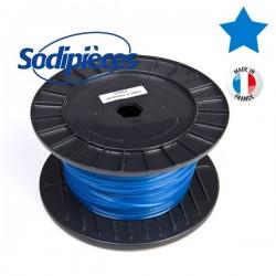 Fil à Prix Promo. Etoilé bleu. Bobine 2,65 mm x 100 m