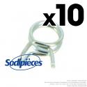 Colliers de serrage pour durite Ø 3 mm x 5,5 mm (10 ex)