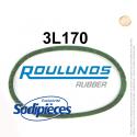 Courroie tondeuse 3L170 Roulunds Continental 9,5 x 6 x 432 mm