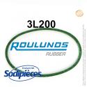 Courroie tondeuse 3L200 Roulunds Continental 9,5 x 6 x 508 mm