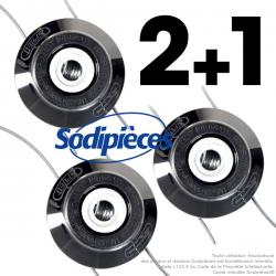 Tête débroussailleuse universelle à 2 fils Speed SF35