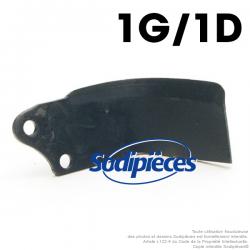 Couteaux pour Agria. 1 gauche, 1 droite. N° 12868, 12869