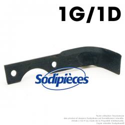 Couteaux pour Agria. 1 gauche, 1 droite. N° 1250-254, 25498, 1250-257 97, 25497