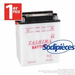 Batterie 12N14-3A.1er Prix. Batterie tondeuse.